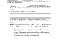 Free Triple Net Nnn Commercial Lease Agreement Template  Pdf within Business Lease Agreement Template Free