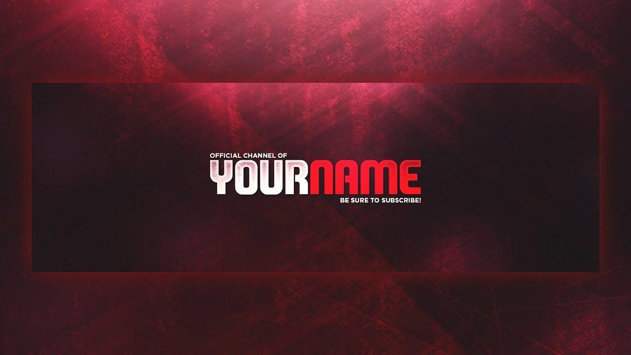 Free Twitter Header Template Psd  Speedart  Youtube With Twitter Banner Template Psd