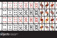Free Vector Playing Cards Deck with regard to Free Printable Playing Cards Template