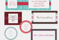 Free Wedding Label Templates – Free Mailing Label Template – Label throughout Free Mailing Label Template