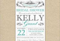Free Wedding Shower Invitation Templates Fresh  Adorable Cheap regarding Blank Bridal Shower Invitations Templates