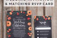 Free Whimsical Wedding Invitation Template  Mountain Modern Life throughout Free Printable Wedding Rsvp Card Templates