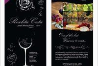 Free Wine Flyer Template Luxury Wine Flyer Template   Best Of inside Wine Brochure Template