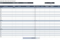 Free Work Breakdown Structure Templates  Smartsheet with regard to Machine Breakdown Report Template