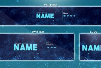 Free Youtube Banner Template  Photoshop Banner  Logo  Twitter pertaining to Youtube Banners Template