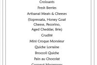French Cafe Menu Ideas  Chart And Printable World inside French Cafe Menu Template