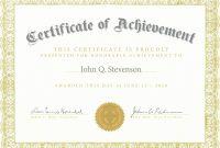 Fresh Army Certificate Achievement Template Example Mughals – Culturatti for Army Certificate Of Achievement Template