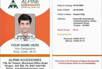 Fresh Free Photo Id Badge Template  Best Of Template regarding Sample Of Id Card Template