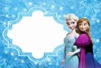 Frozen Free Printable Cards Or Party Invitations  Oh My Fiesta intended for Frozen Birthday Card Template