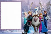Frozen Free Printable Cards Or Party Invitations  Oh My Fiesta with regard to Frozen Birthday Card Template
