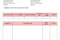 Fta Tax Invoice Sample Luxury Template Word Doc in Tax Invoice Template Doc