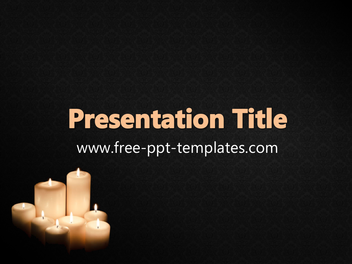 Funeral Ppt Template Inside Funeral Powerpoint Templates
