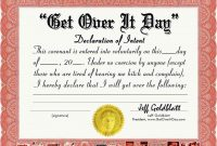 Funny Award Certificates Templates Free – Godl throughout Funny Certificates For Employees Templates