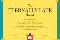 Funny Certificate Template Template  Venngage pertaining to Funny Certificates For Employees Templates