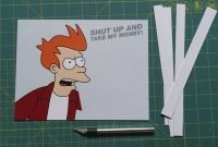 Futurama Meme Gift Card  Steps With Pictures within Shut Up And Take My Money Card Template