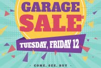 Garage Sale Flyer Template Free Inspirational  Free Yard Sale within Yard Sale Flyer Template Word