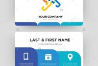 Generic Business Card Design Template Visiting For Your Company for Generic Business Card Template