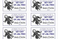 Get Out Of Jail Free Card Template Five Easy Ways To  Marianowo with Get Out Of Jail Free Card Template