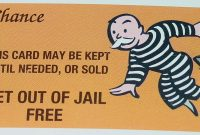 Get Out Of Jail Free Card Template  Pics  Download within Get Out Of Jail Free Card Template