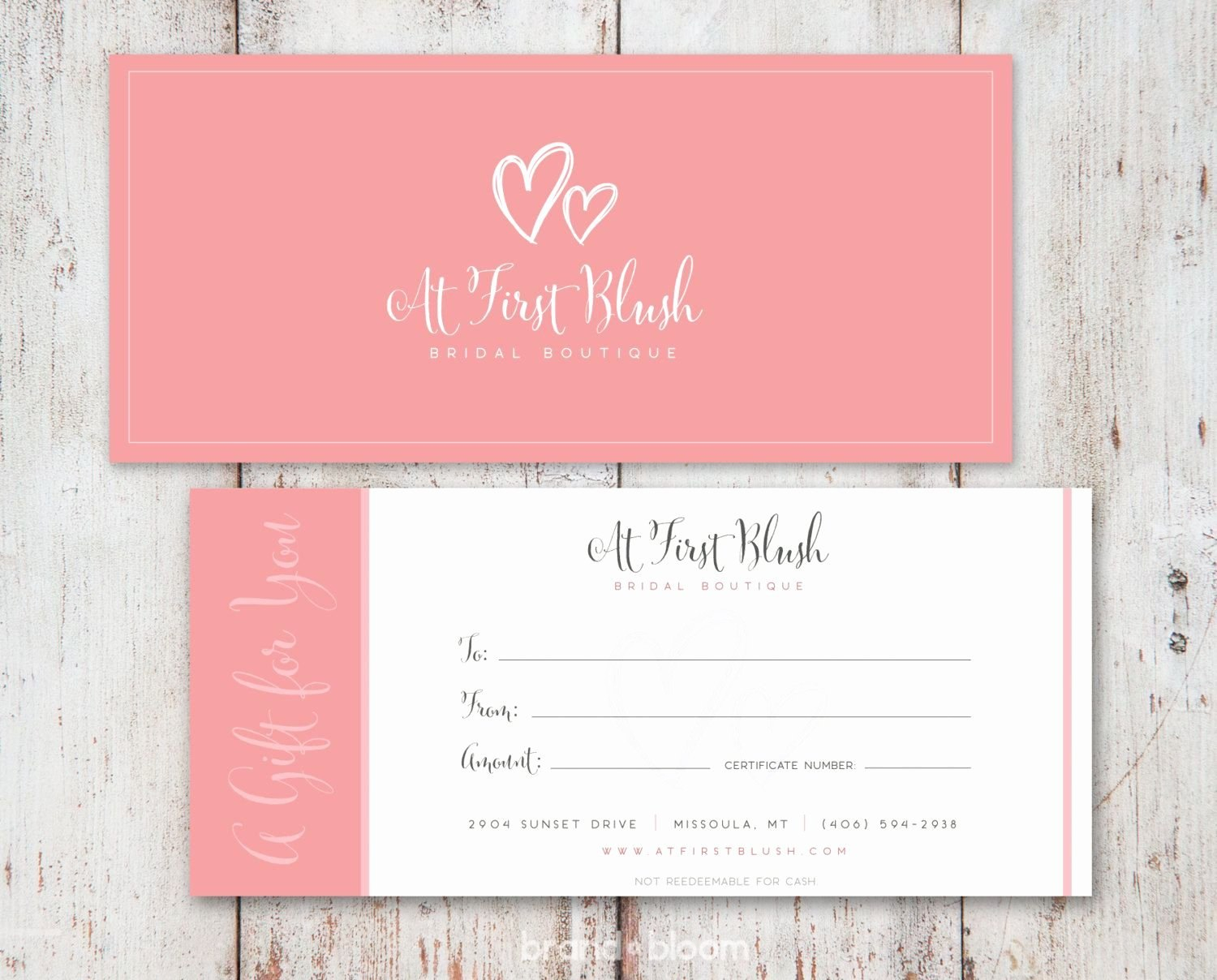Gift Card Design Template Luxury Free Gift Certificate Template Inside Custom Gift Certificate Template