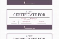 Gift Card Template Free Pleasant Wording Gift Certificates  Best Of throughout Fillable Gift Certificate Template Free