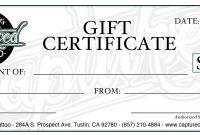 Gift Certificate Template Free Download Diy Elegant Templates To in Custom Gift Certificate Template
