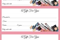 Gift Certificates Just In Time For Call Or Text To Order Jen Patrick inside Mary Kay Gift Certificate Template