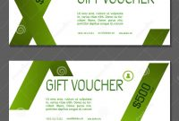Gift Voucher Coupon And Voucher Template For Company Corporate inside Company Gift Certificate Template