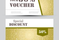 Gift Voucher Template With Mandala Design Vector Image On Vectorstock regarding Magazine Subscription Gift Certificate Template