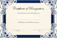 Gold Certificate Template Word  Certificatetemplateword intended for Free Funny Award Certificate Templates For Word