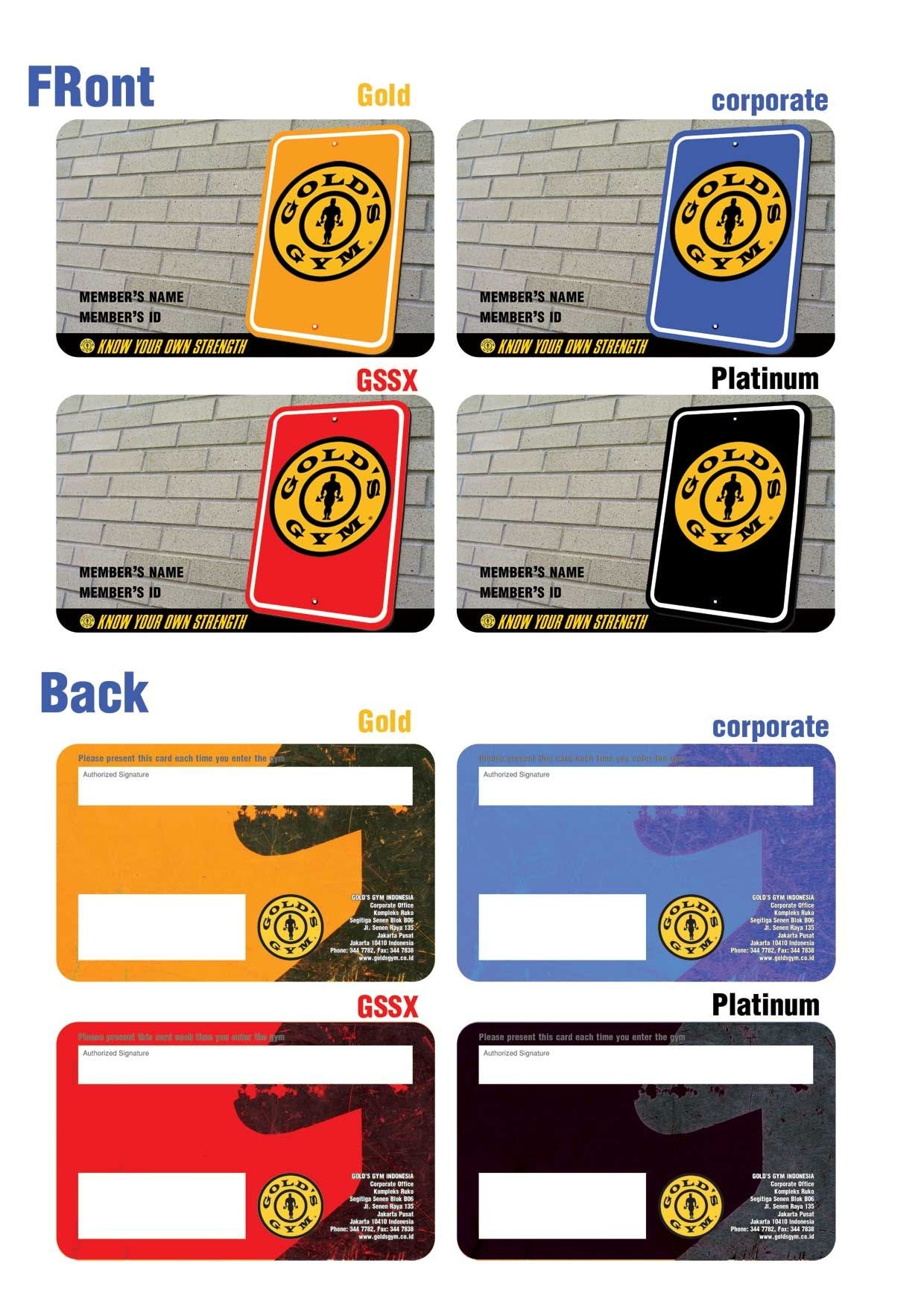 Gold Gym Membership Card  G I F T S  Resume Template Free Golds For Gym Membership Card Template