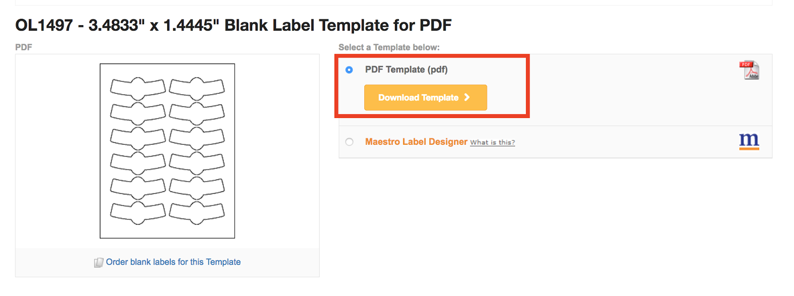 Gold Mine Of Free Downloadable Sticker And Label Templates For With Regard To Online Labels Template