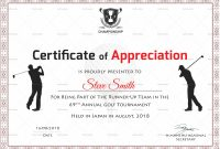 Golf Appreciation Certificate Design Template In Psd Word regarding Golf Certificate Templates For Word