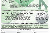 Golf Tournament Sponsorship Form throughout Golf Tournament Sponsorship Agreement Template