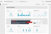 Google Plus Social Media Report Reach And Engagement Metrics Template throughout Reporting Website Templates