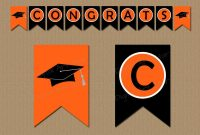Graduation Banner Printable Congratulations Banner  Etsy throughout Congratulations Banner Template