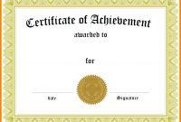 Graduation Certificate Sample  Managementoncall For 5Th Grade Graduation Certificate Template