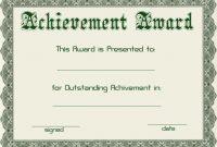 Greenhighresolutionawardcertificatetemplate throughout High Resolution Certificate Template