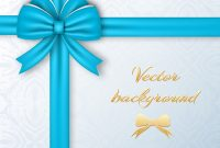 Greeting Present Card Template Royalty Free Vector Image for Present Card Template