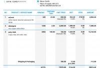 Gst Invoice Format inside Australian Invoice Template Word