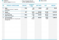 Gst Proforma Invoice Format for Template Of Proforma Invoice
