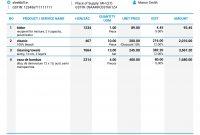 Gst Proforma Invoice Format in Proforma Invoice Template India