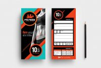 Gym  Fitness Dl Rack Card Template In Psd Ai  Vector  Brandpacks within Dl Card Template