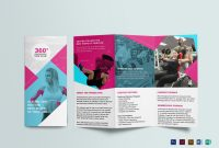 Gym Trifold Brochure Design Template In Psd Word Publisher in 4 Fold Brochure Template Word