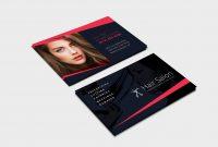 Hair Salon Business Card Template In Psd Ai  Vector  Brandpacks pertaining to Hair Salon Business Card Template