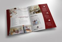 Half Fold Brochure Template For Design Company Marketing Materials inside Half Page Brochure Template