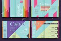 Half Fold Fancy Restaurant Template Of Brochure Design Stock Vector throughout Fancy Brochure Templates