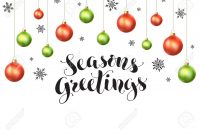 Happy Holidays Greeting Card Template Modern New Year Lettering inside Happy Holidays Card Template