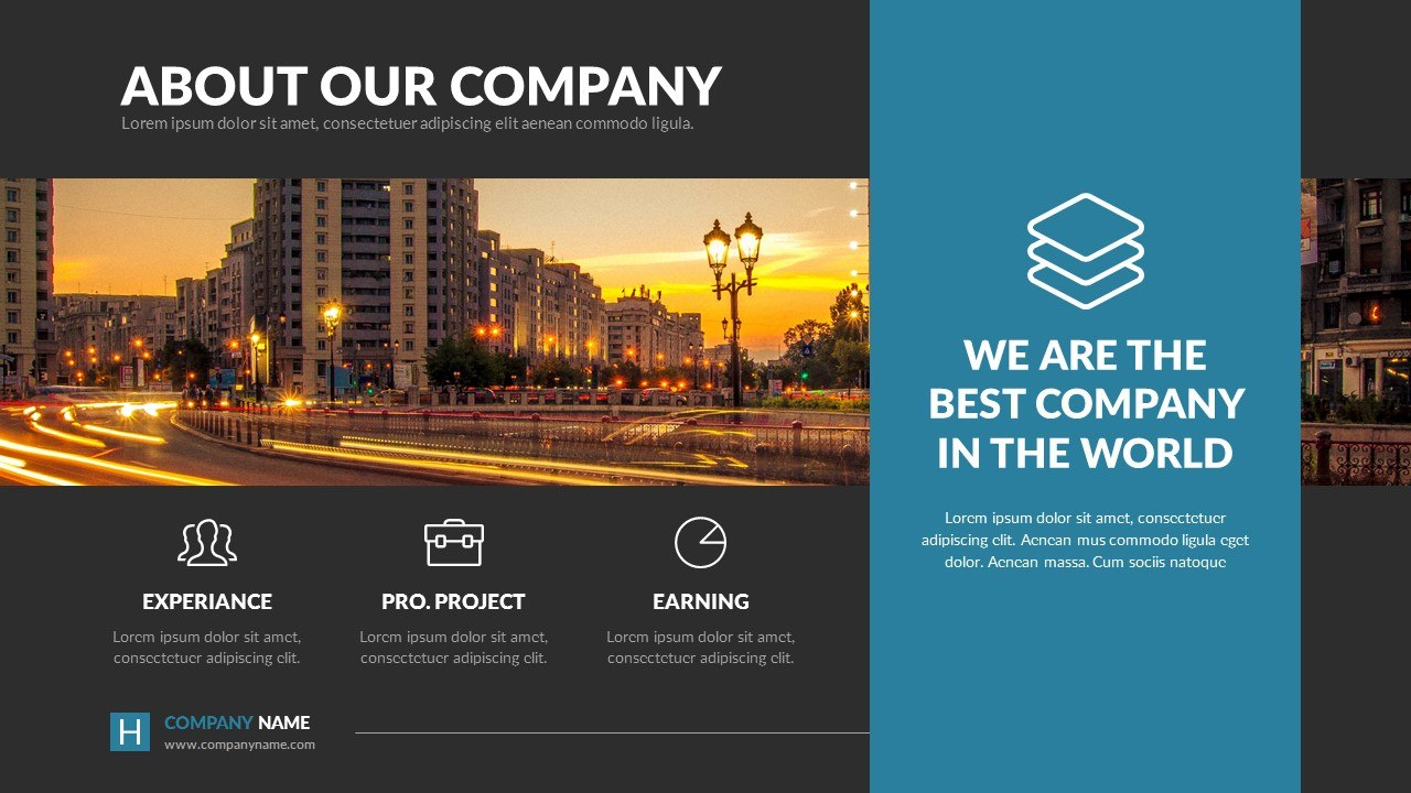 Harmony  Business Powerpoint Presentation Templatespriteit With Regard To Ppt Presentation Templates For Business