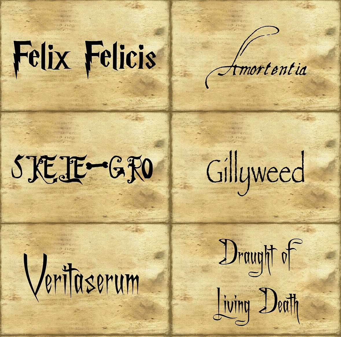 Harry Potter Labels – Demisiriusly Within Harry Potter Potion Labels Templates